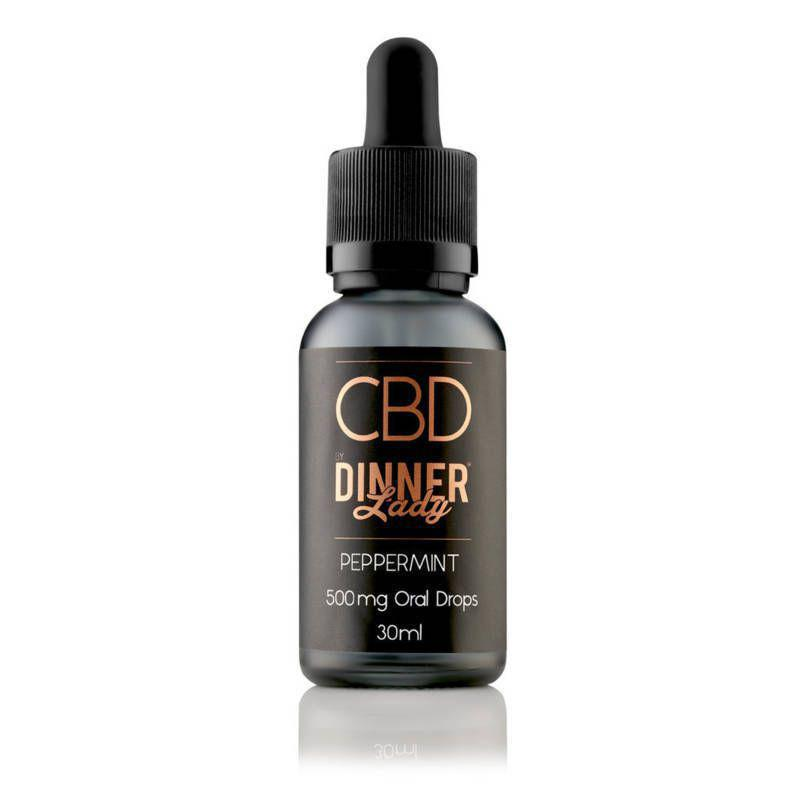 Peppermint CBD Oral Drops by Dinner Lady 30ml